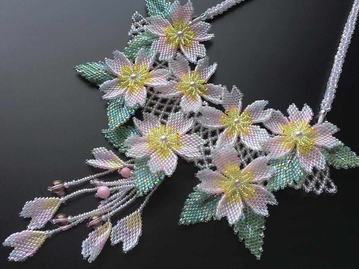 キラキラ桜吹雪のゴージャスチョーカー2